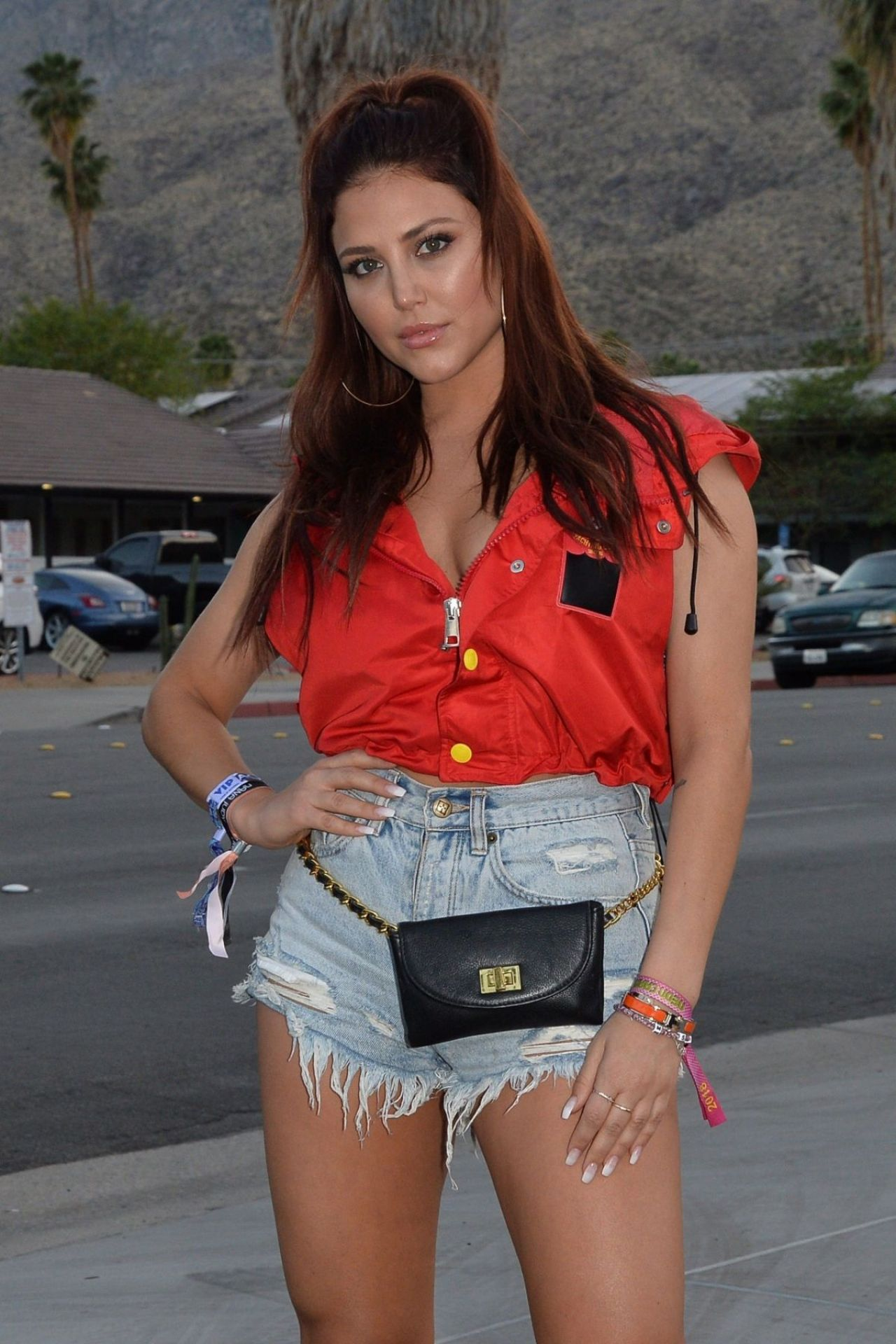 Cassie Scerbo Playboy Social Club Coachella Party In