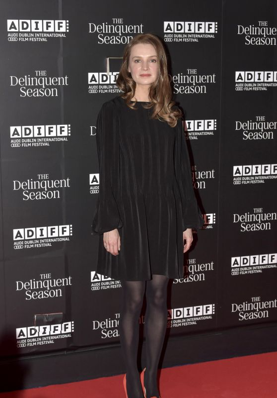 "Catherine Walker – ""The Delinquent Season"" World Premiere in Dublin"