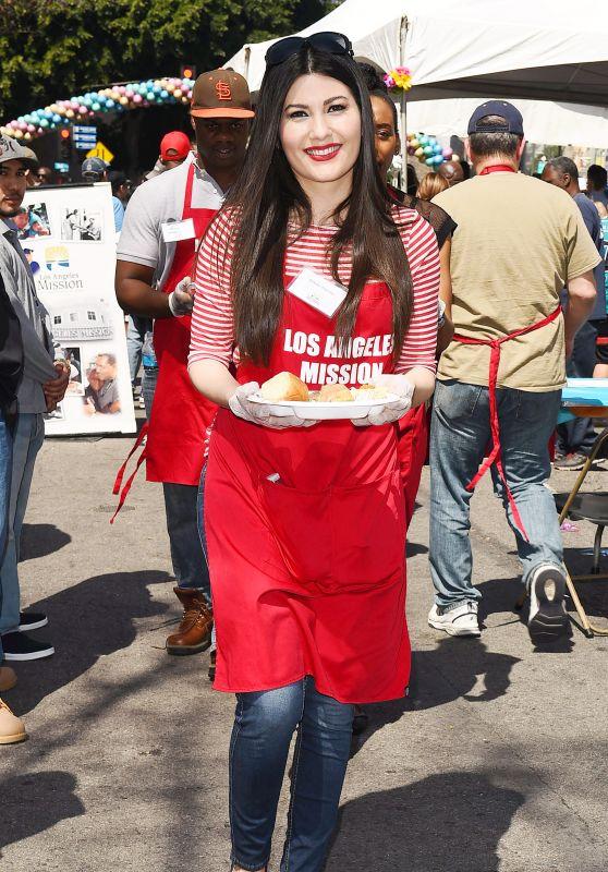 Celeste Thorson - Los Angeles Mission Easter Celebration 03/30/2018