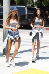 Chantel Jeffries - Out for Lunch at Urth Caffe in West Hollywood 04/23/2018
