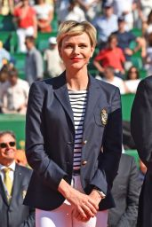 Charlene of Monaco - ATP Masters Series Monte Carlo 2018