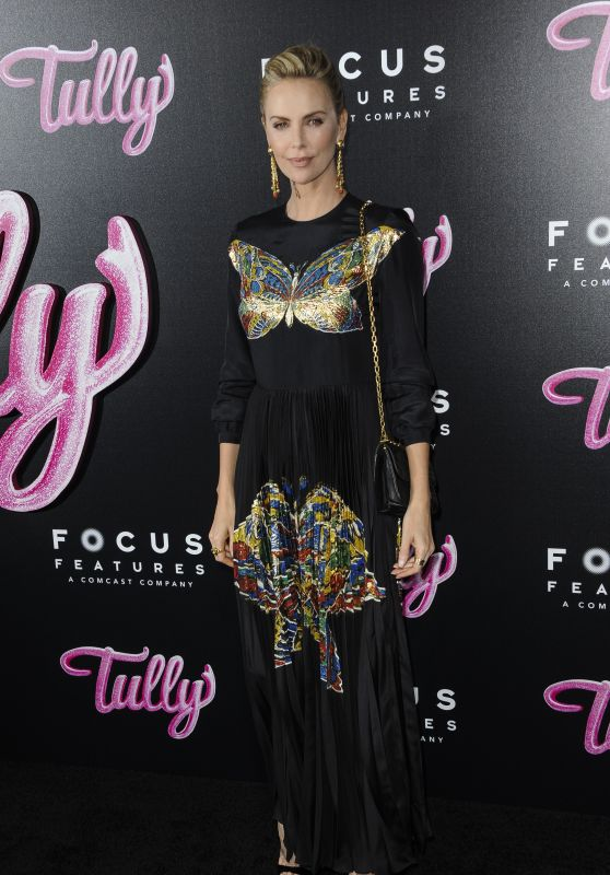 """Charlize Theron – """"Tully"""" Premiere in Los Angeles"""