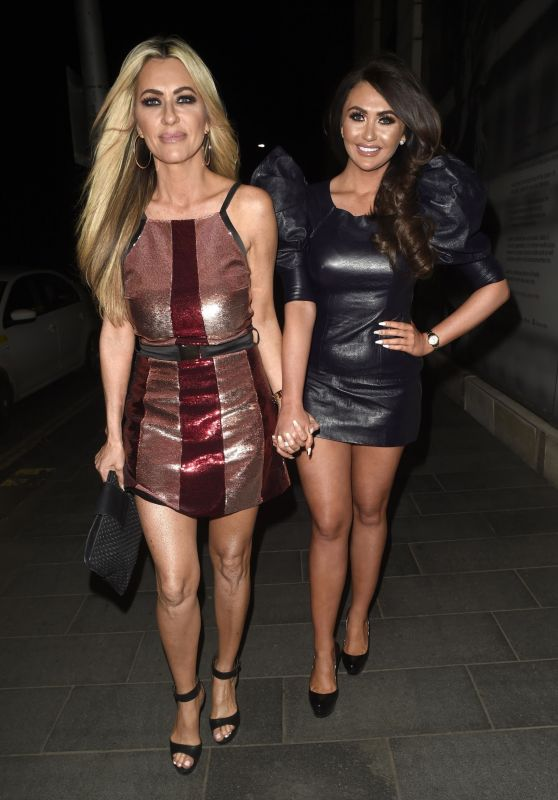 Charlotte Dawson and Dawn Ward at Tattu in Manchester 04/28/2018