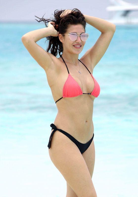 Chloe Goodman in Bikini in Dubai 04/02/2018