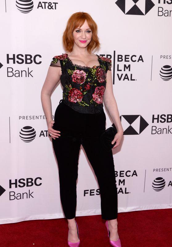 "Christina Hendricks - ""Egg"" Screening - 2018 Tribeca Film Festival in NYC"