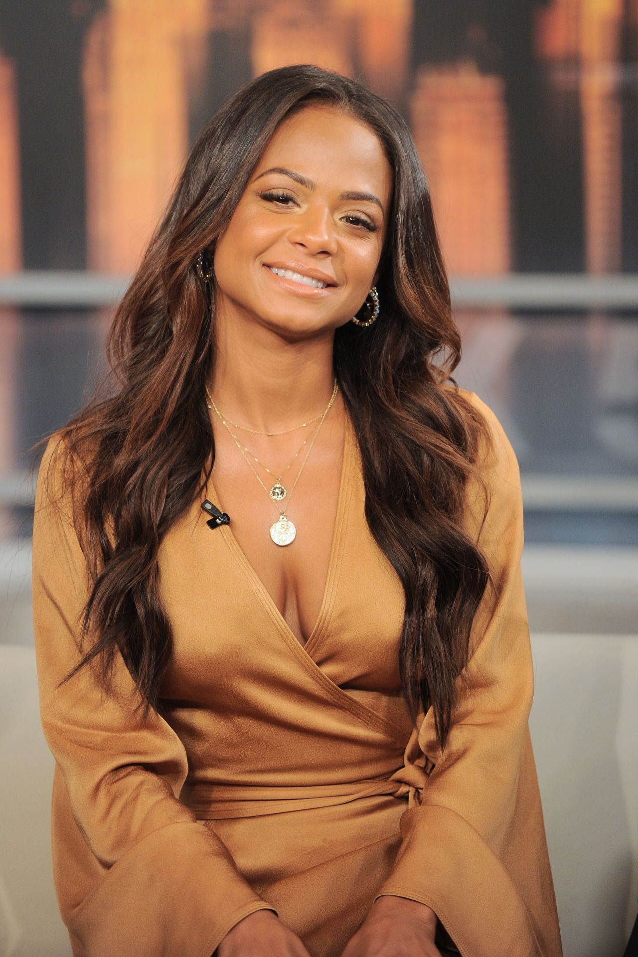 Christina Milian Appeared On Good Day New York 04 26 2018
