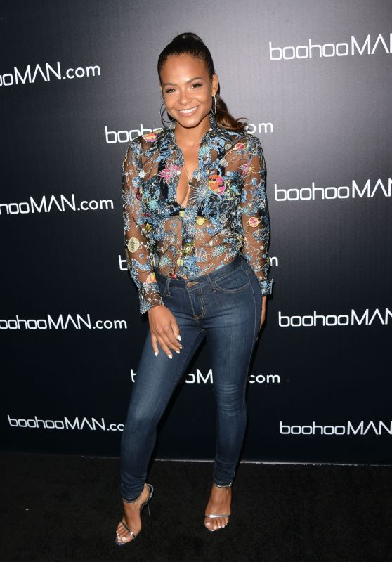 Christina Milian - boohooMAN by French Montana Launch Party in LA