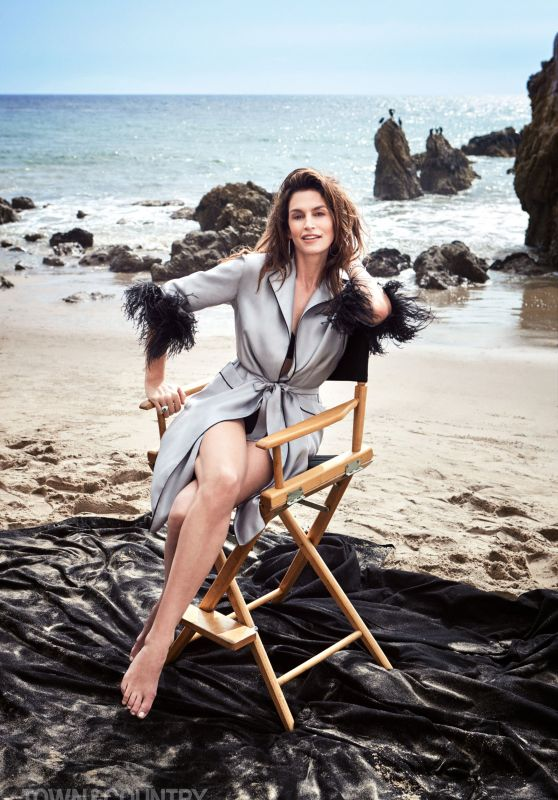 Cindy Crawford - Town & Country Magazine May 2018 Issue