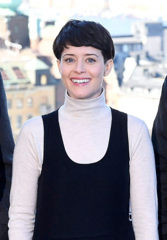 """Claire Foy - """"The Girl in the Spider"""