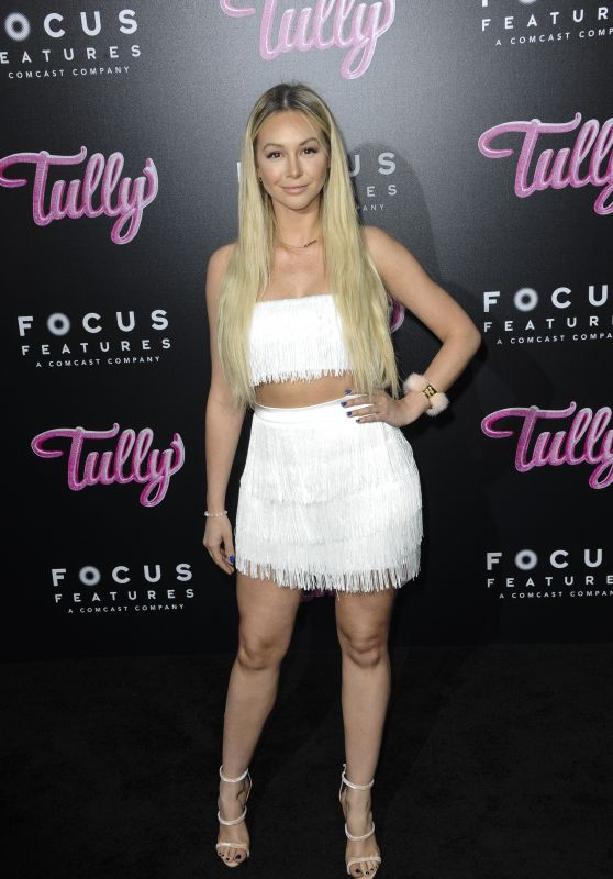 "Corinne Olympios - ""Tully"" Premiere in Los Angeles"
