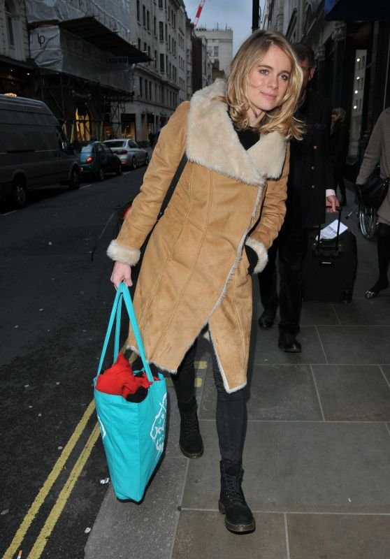 """Cressida Bonas at the """"The Dog Beneath the Skin"""" Final Performance Theatre in London"""