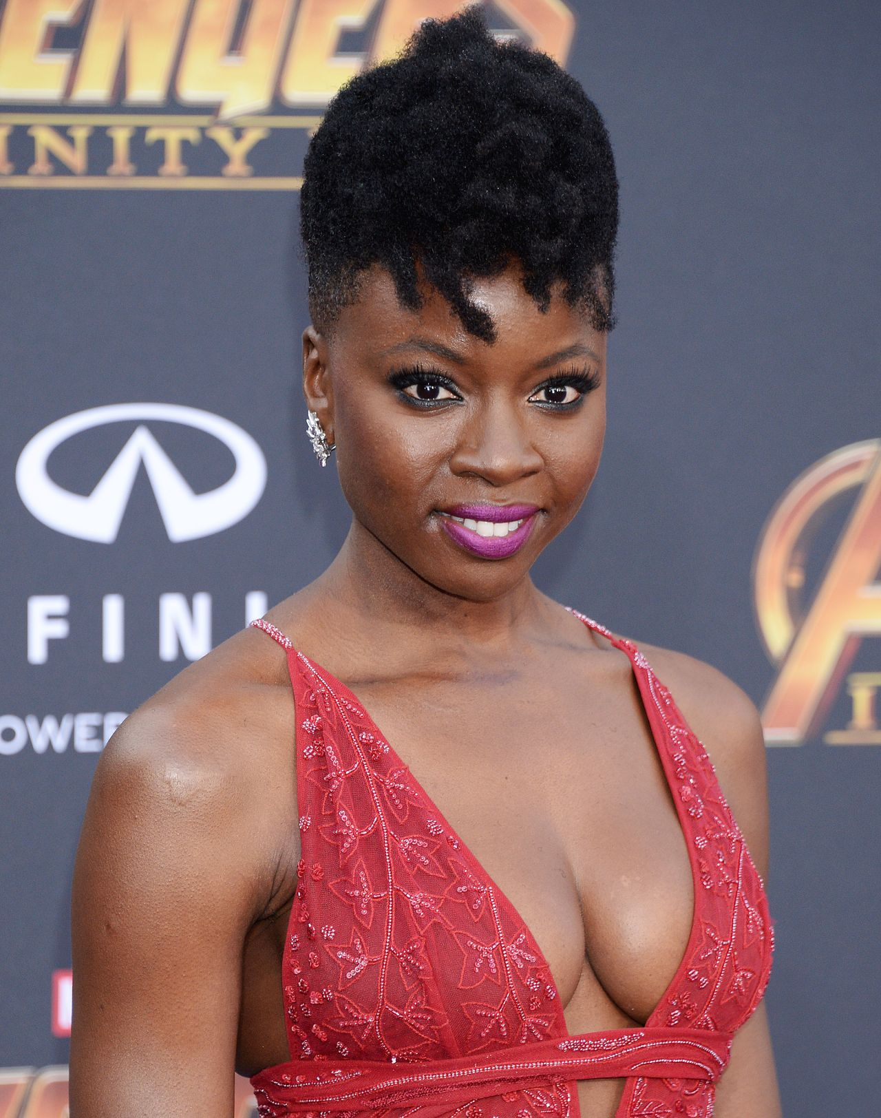 "Danai Gurira – ""Avengers: Infinity War"" Premiere in LA"