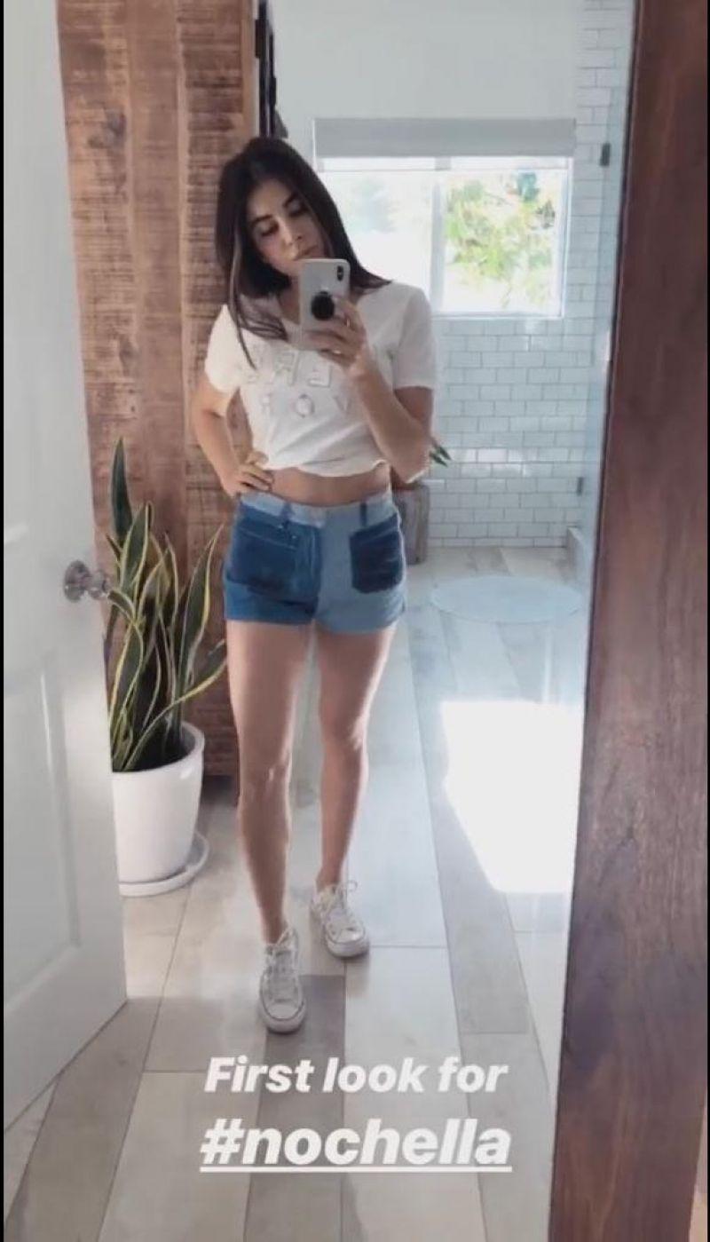 Daniella Monet - Social Media, April 2018