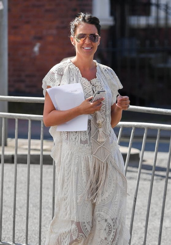 Danielle Lloyd - Out in Liverpool 04/19/2018