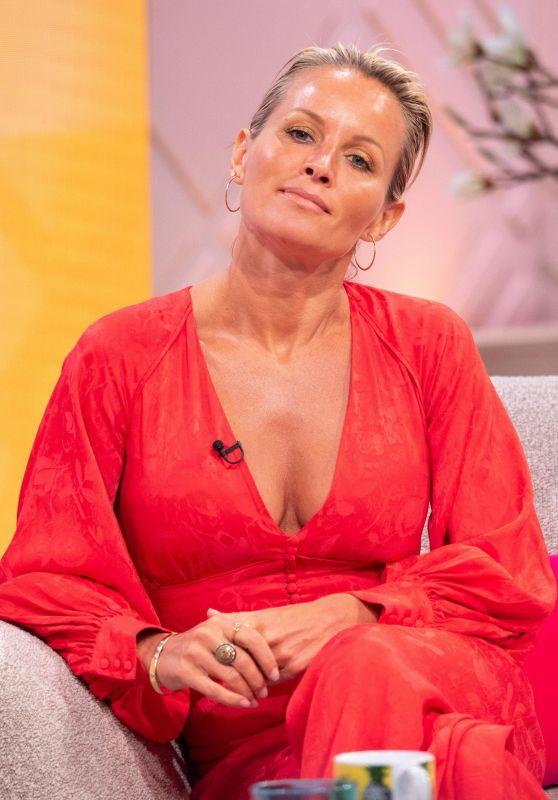Davinia Taylor - Lorraine TV Show London 04/19/2018