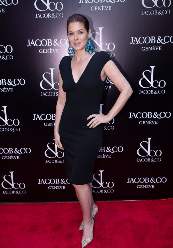 Debra Messing -  Jacob & Co. New York City Flagship Grand Re-opening in New York 04/26/2018