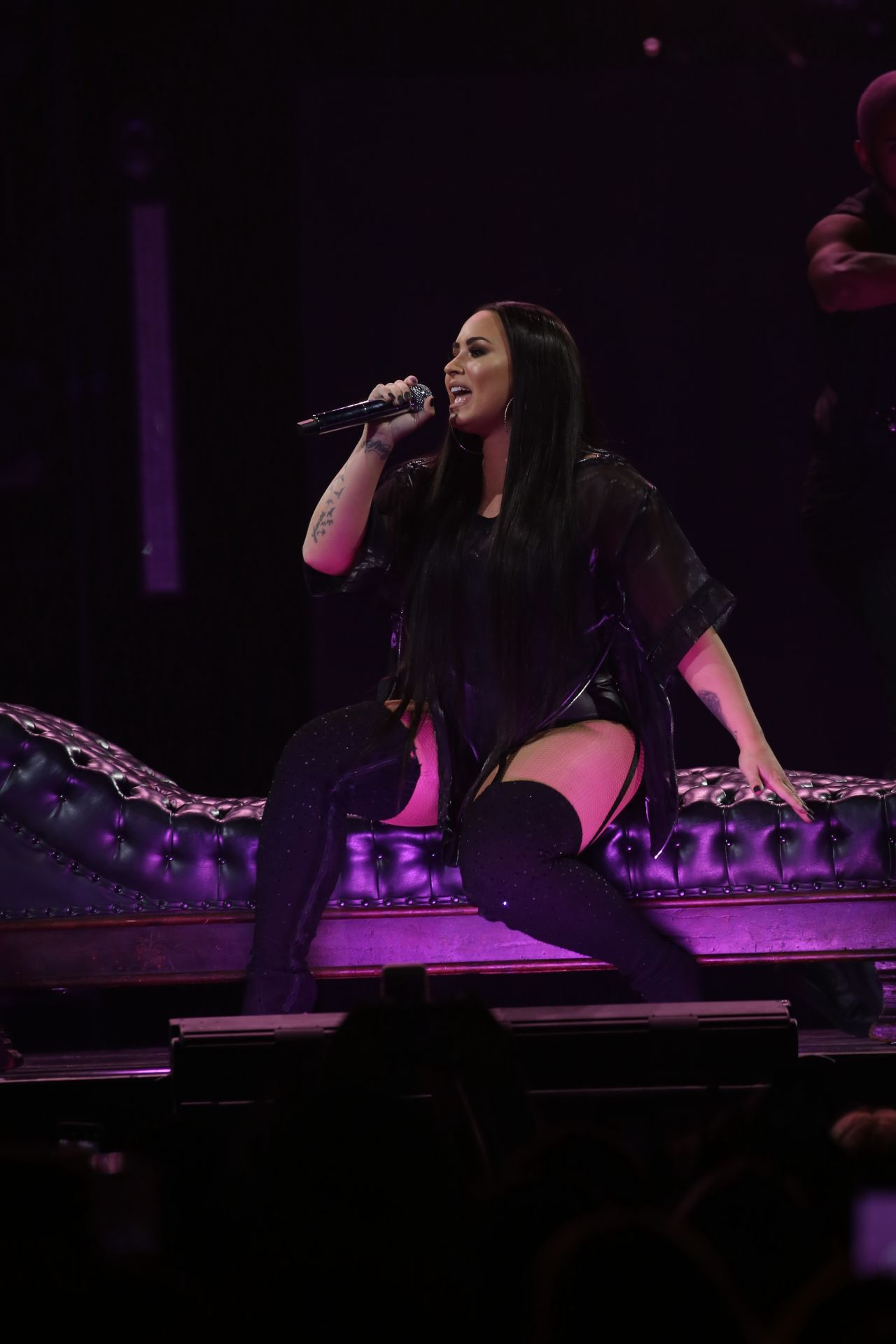 Demi Lovato Performing Live At Prudential Center In