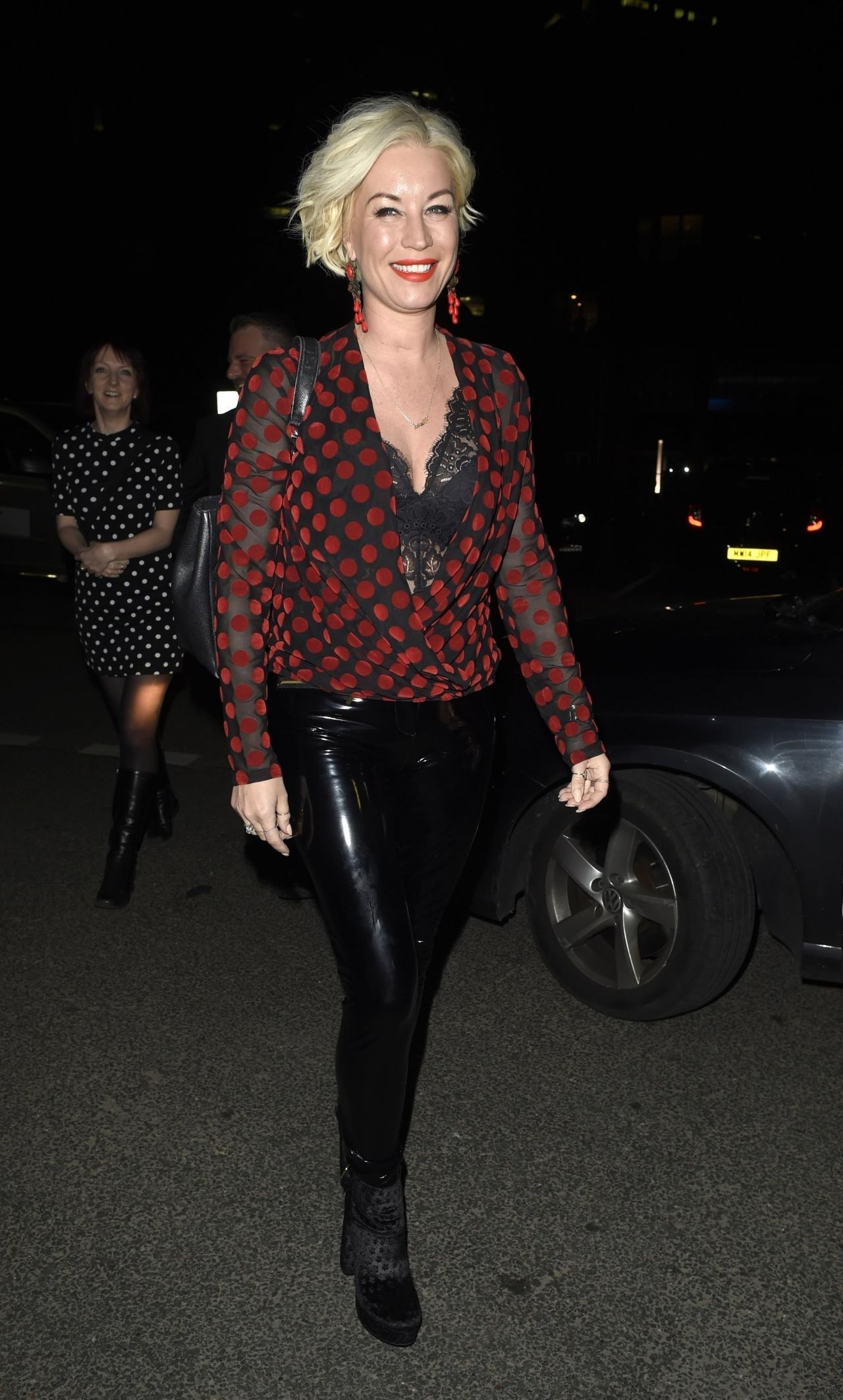 Denise Van Outen Night Out At Menagerie In Manchester-5651
