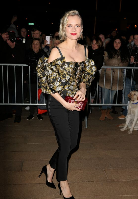 Diane Kruger – Dolce & Gabbana Alta Moda in NYC