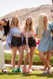 Dove Cameron – Festival Kick-Off Brunch at Coachella 2018