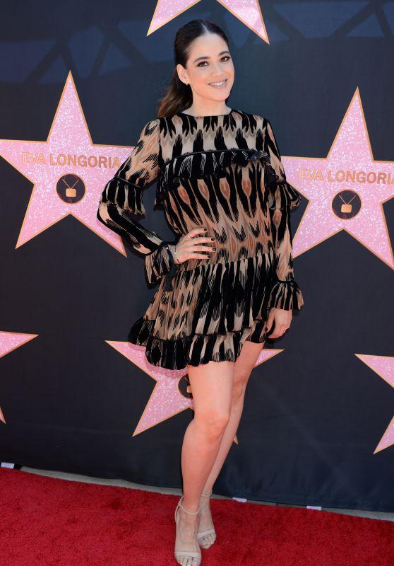 Edy Ganem - Eva Longoria Hollywood Walk of Fame in LA