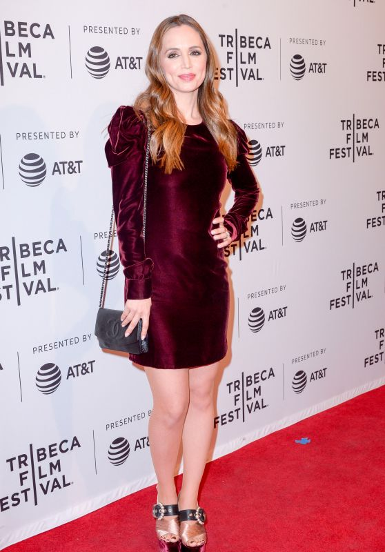 "Eliza Dushku - ""Mapplethorpe"" Premiere at Tribeca Film Festival"