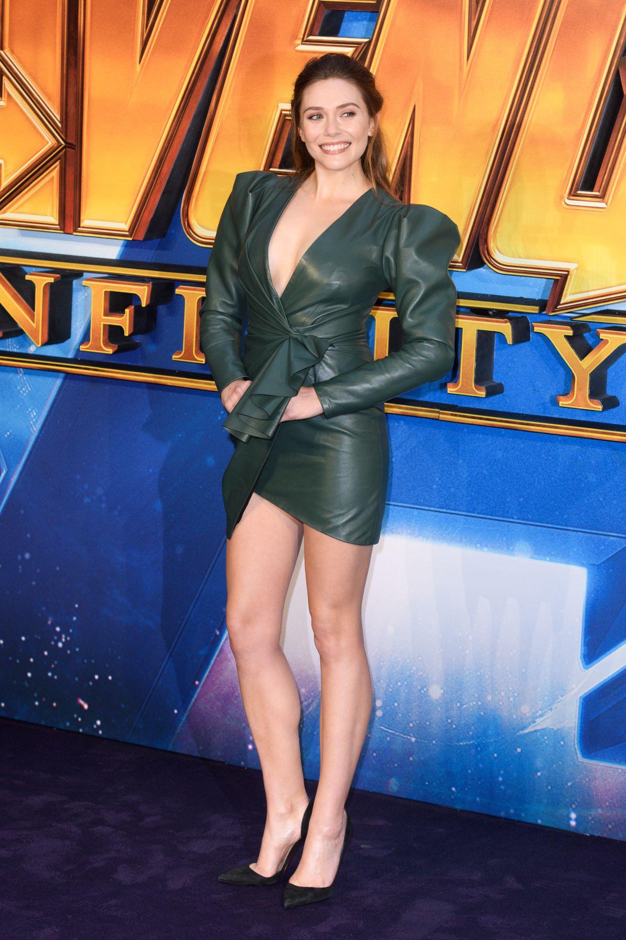 Elizabeth Olsen Quot Avengers Infinity War Quot Fan Screening