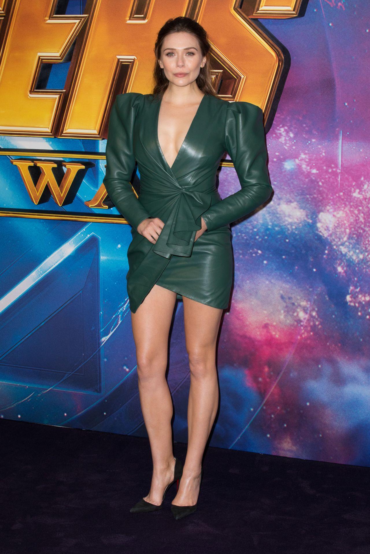 """Elizabeth Olsen - """"Avengers: Infinity War"""" Fan Screening"""
