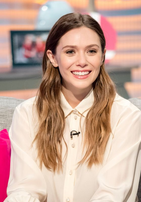 "Elizabeth Olsen - Visits the ""Lorraine"" TV Show in London 04/11/2018"