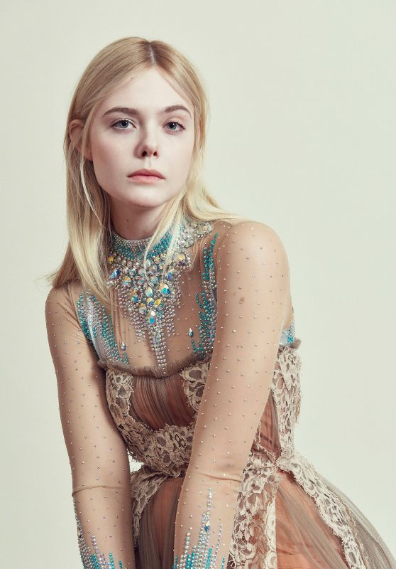 Elle Fanning - Harpers Bazaar Germany May 2018