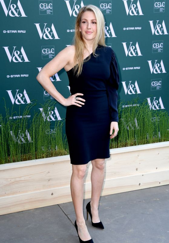 "Ellie Goulding – ""Fashioned For Nature"" Exhibition VIP Preview in London"