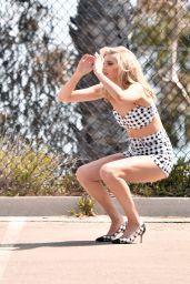 Elsa Hosk - Photoshoot in Los Angeles 04/17/2018