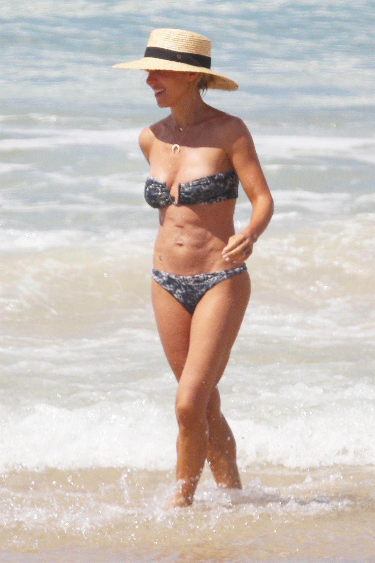 Elsa Pataky In Bikini At The Beach In Byron Bay April 2018