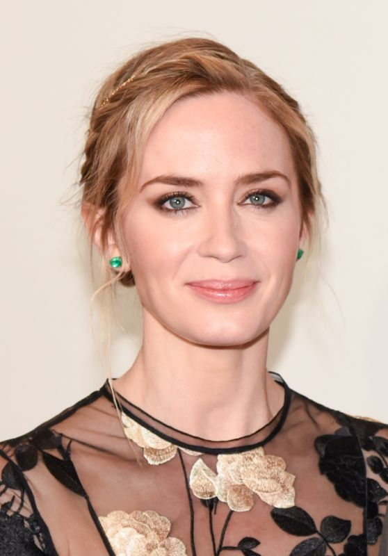 Emily Blunt – 2018 Time 100 Gala in NYC