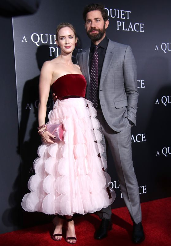 "Emily Blunt and John Krasinski – ""A Quiet Place"" Premiere in NYC"