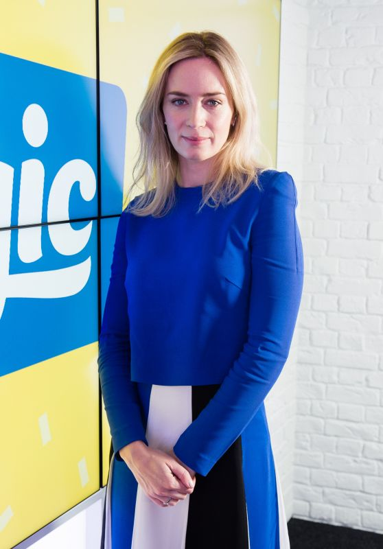 Emily Blunt - Magic Radio London 04/05/2018