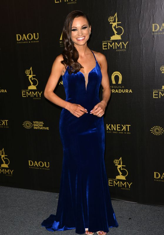 Emily Calandrelli – 2018 Daytime Creative Arts Emmy Awards in LA
