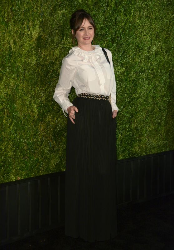 Emily Mortimer – CHANEL Tribeca 2018 Artists Dinner in NYC