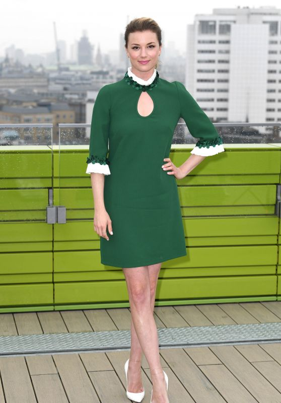 """Emily VanCamp - """"The Resident"""" Photocall at NBC Universal in London"""
