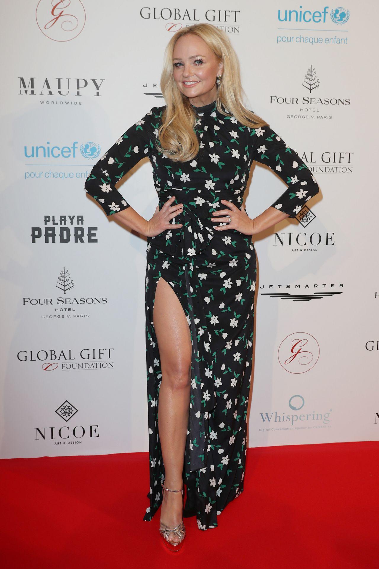 2501ba95c25 Emma Bunton – Global Gift Gala in Paris 04 25 2018