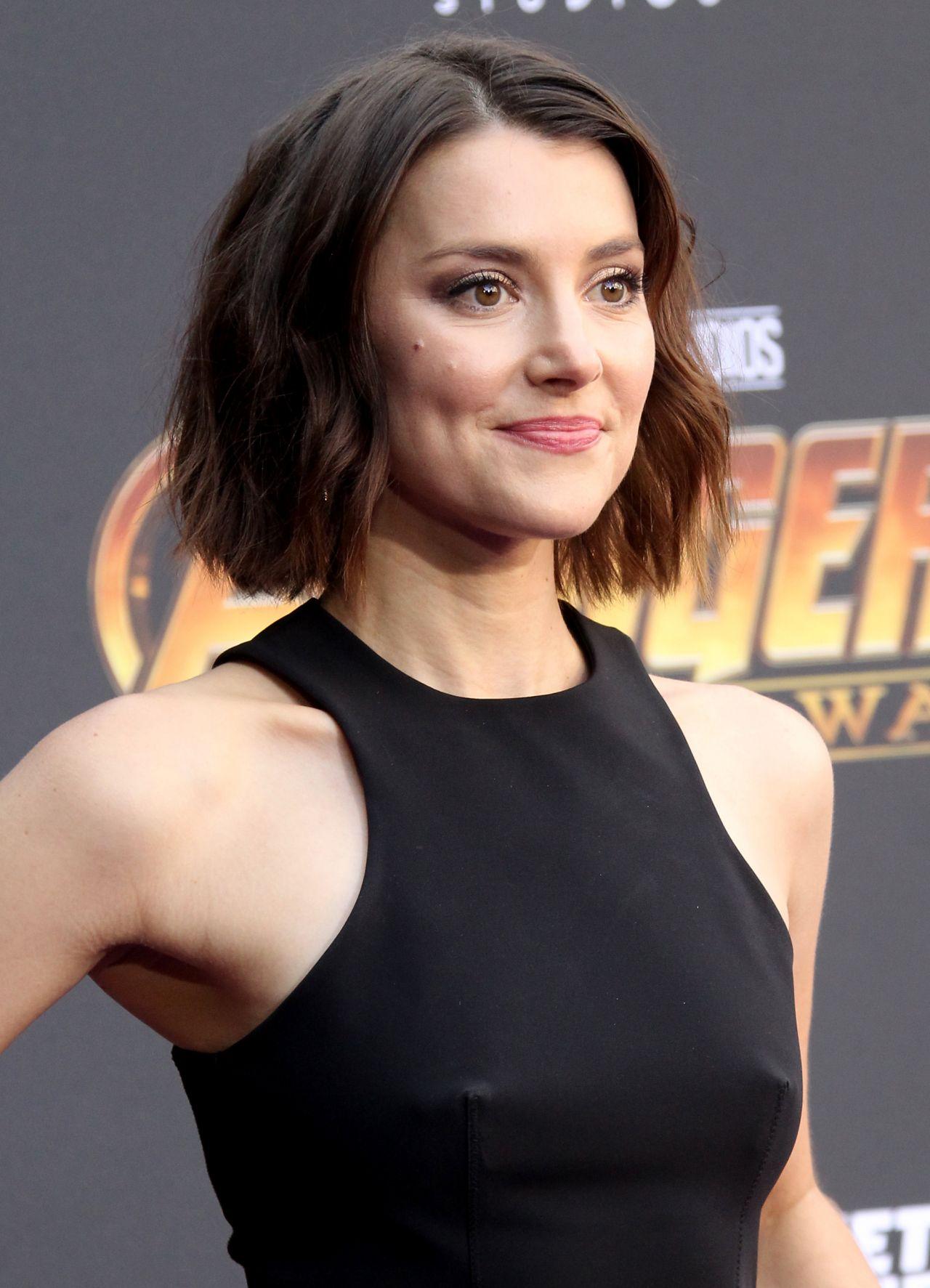 Emma Lahana Avengers Infinity War Premiere In La