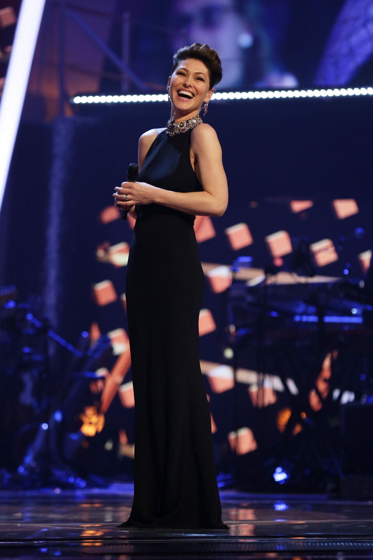 """Emma Willis - """"The Voice UK"""" TV Show, S7E13 in London 03 ..."""