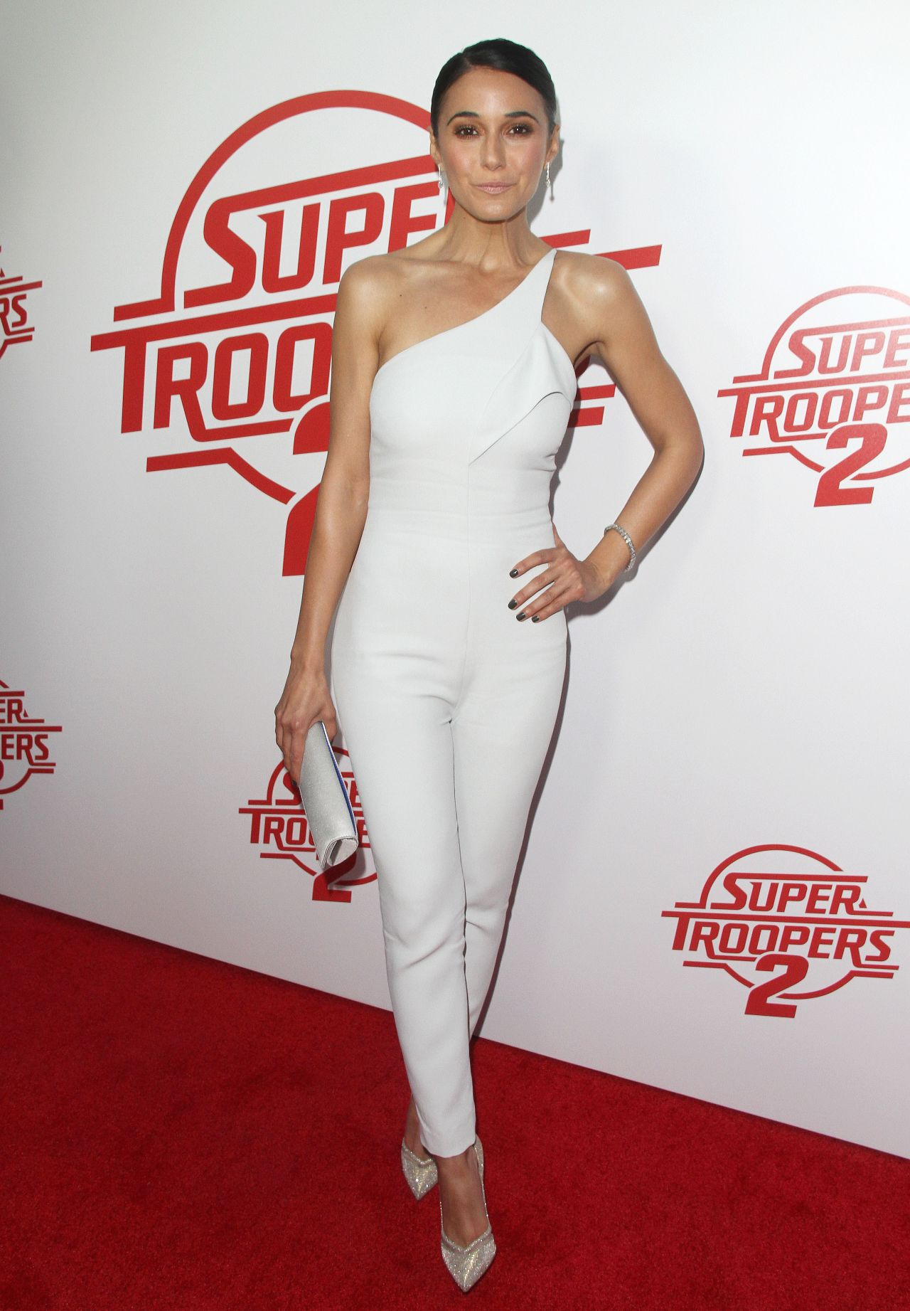 Emmanuelle Chriqui Quot Super Troopers 2 Quot Premiere In Hollywood