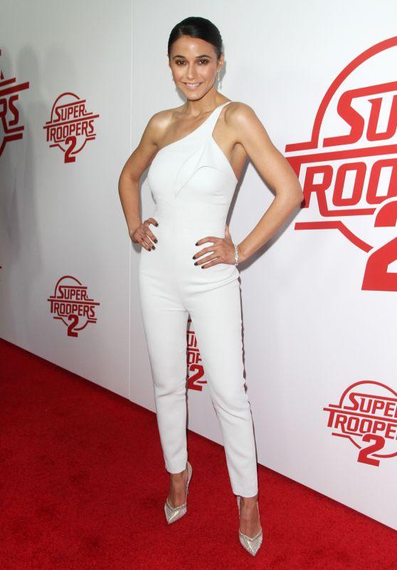 "Emmanuelle Chriqui - ""Super Troopers 2"" Premiere in Hollywood"