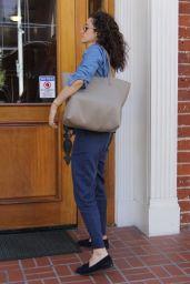 Emmy Rossum Runs Errands in Beverly Hills 04/16/2018
