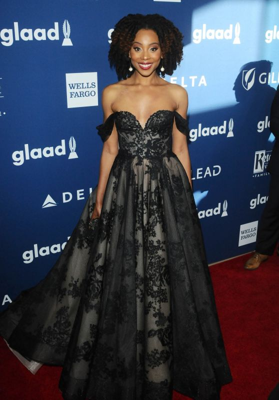 Erica Ash – 2018 GLAAD Media Awards in LA