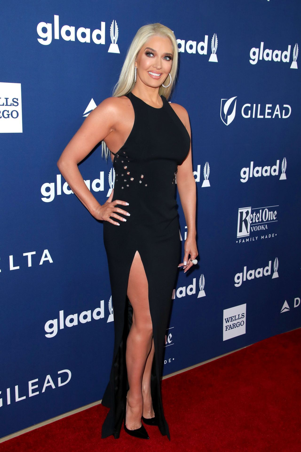 Erika Jayne 2018 Glaad Media Awards In La