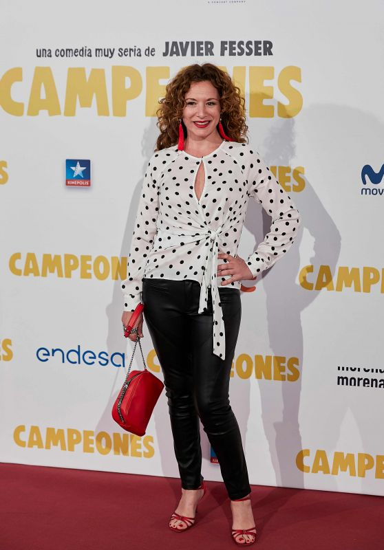 "Eva Almaya – ""Campeones"" Premiere in Madrid"