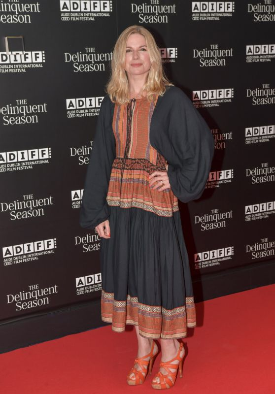 "Eva Birthistle - ""The Delinquent Season"" World Premiere in Dublin 04/25/2018"