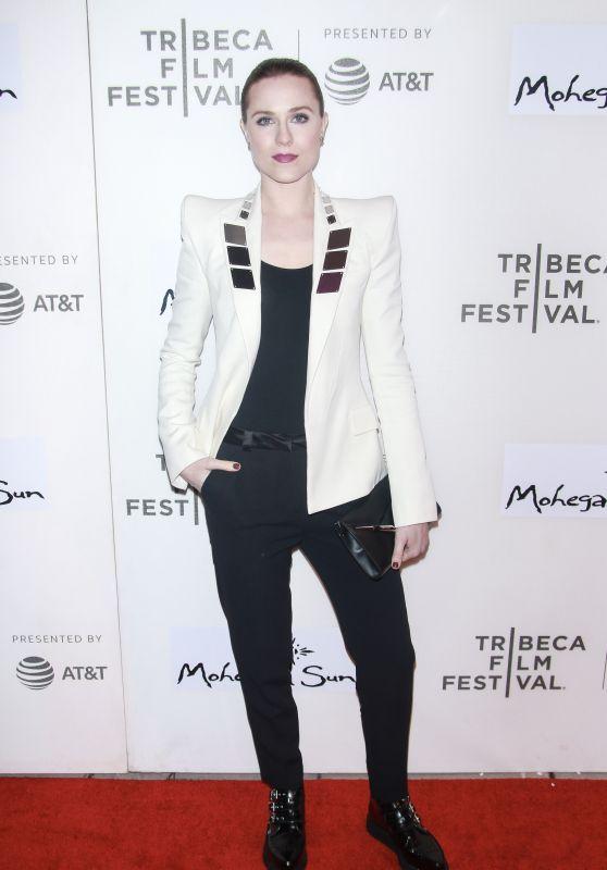 "Evan Rachel Wood – ""Westworld"" Season 2 Premiere at Tribeca Film Festival in NY"